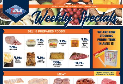 7 Mile Market Weekly Ad Flyer February 7 to February 12, 2021
