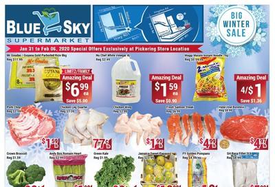 Blue Sky Supermarket (Pickering) Flyer January 31 to February 6