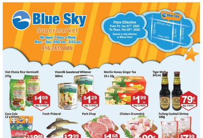 Blue Sky Supermarket (North York) Flyer January 31 to February 6