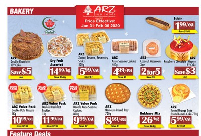Arz Fine Foods Flyer January 31 to February 6