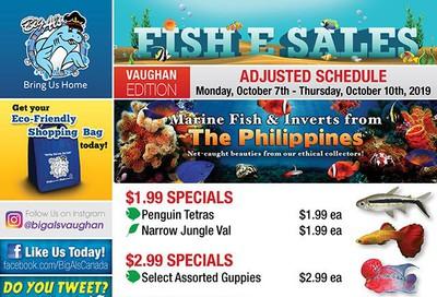 Big Al's (Vaughan) Weekly Specials October 7 to 10