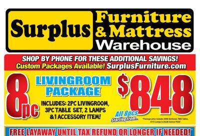 Surplus Furniture & Mattress Warehouse (Brantford) Flyer February 8 to 28
