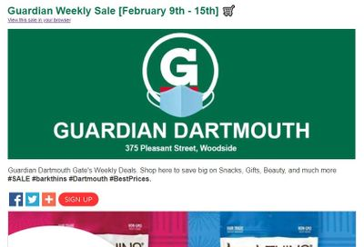 Guardian (Dartmouth Gate) Flyer February 9 to 15