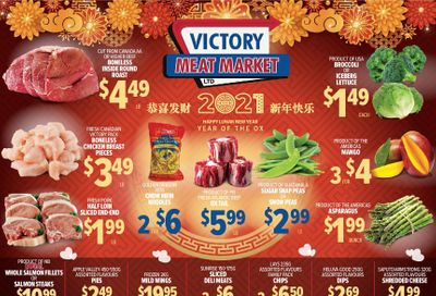 Victory Meat Market Flyer February 9 to 13