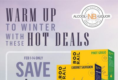 Alcool NB Liquor Flyer February 1 to 14