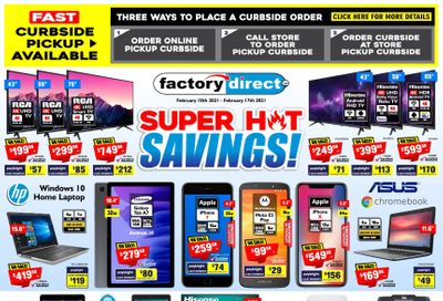 Factory Direct Flyer February 10 to 17