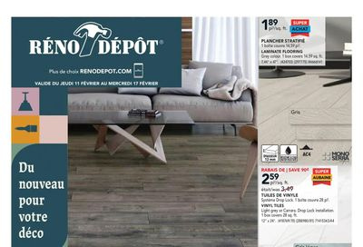 Reno Depot Flyer February 11 to 17