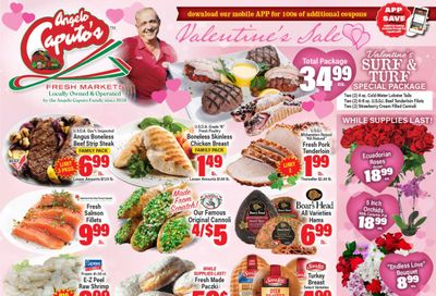 Angelo Caputo's Valentine's Day Sale Weekly Ad Flyer February 10 to February 16, 2021