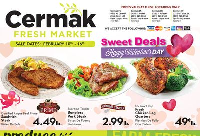 Cermak Fresh Market (IL) Valentine's Day Sale Weekly Ad Flyer February 10 to February 16, 2021