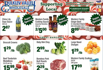 Bulkley Valley Wholesale Flyer February 11 to 17