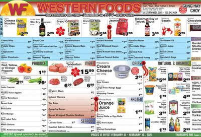 Western Foods Flyer February 10 to 16