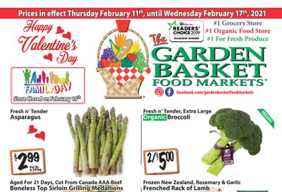 The Garden Basket Flyer February 11 to 17