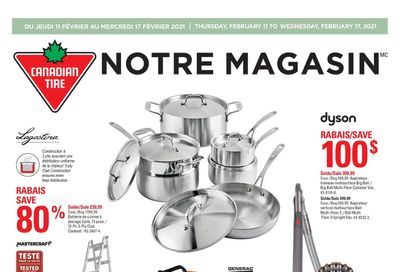 Canadian Tire (QC) Flyer February 11 to 17