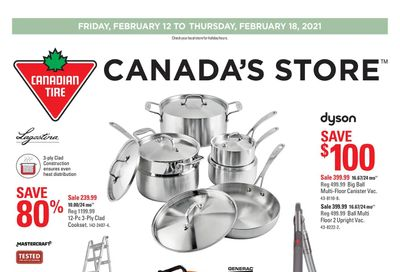 Canadian Tire (West) Flyer February 12 to 18