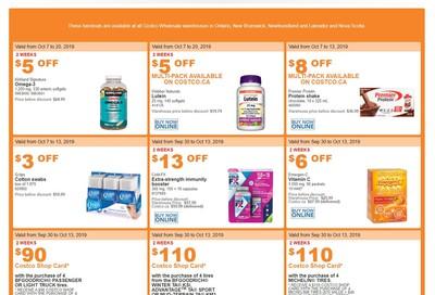 Costco (ON & Atlantic Canada) Weekly Savings October 7 to 13