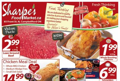 Sharpe's Food Market Flyer February 11 to 17