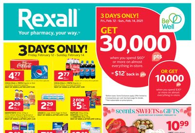 Rexall (West) Flyer February 12 to 18
