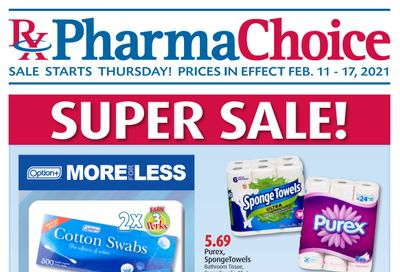 PharmaChoice (BC, AB, SK & MB) Flyer February 11 to 17