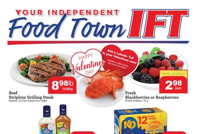 IFT Independent Food Town Flyer February 12 to 18