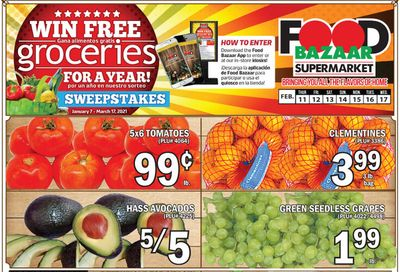 Food Bazaar Supermarket Weekly Ad Flyer February 11 to February 17, 2021