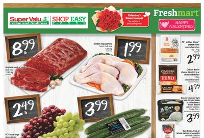 Shop Easy & SuperValu Flyer February 12 to 18
