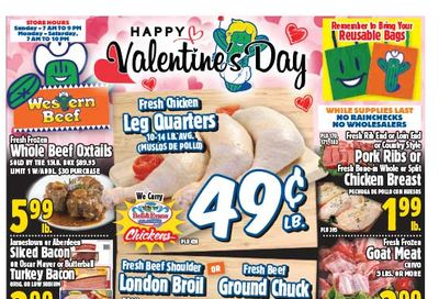 Western Beef Weekly Ad Flyer February 11 to February 17, 2021