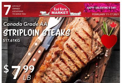 Red Barn Market Flyer February 11 to 17