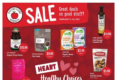 Nature's Fare Markets Flyer February 11 to 24
