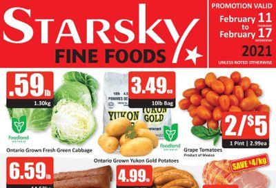 Starsky Foods Flyer February 11 to 17