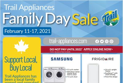 Trail Appliances (AB & SK) Flyer February 11 to 17