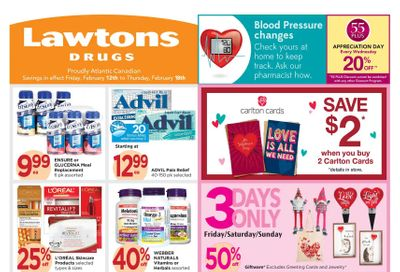 Lawtons Drugs Flyer February 12 to 18