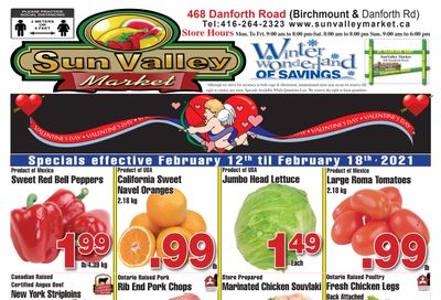 Sun Valley Market Flyer February 12 to 18