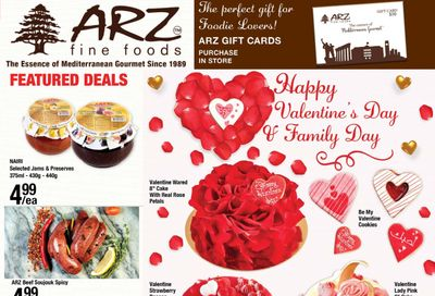 Arz Fine Foods Flyer February 12 to 18