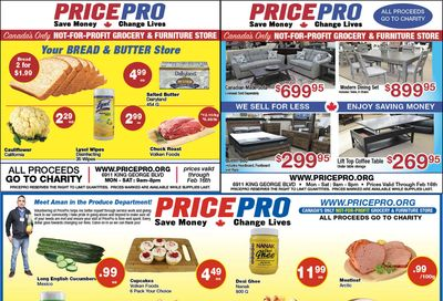 Price Pro Flyer February 10 to 16