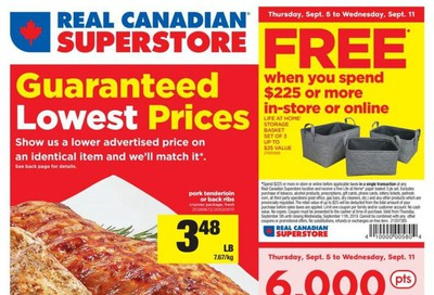 Real Canadian Superstore (ON) Flyer September 5 to 11