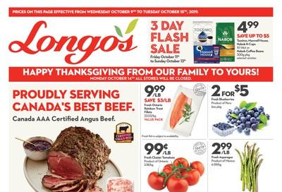 Longo's Flyer October 9 to 15