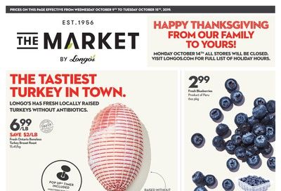 The Market by Longo's Flyer October 9 to 15