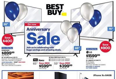 Best Buy Anniversary Sale Flyer October 11 to 17