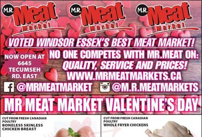 M.R. Meat Market Flyer February 13 to 20