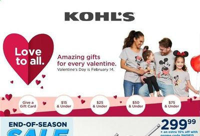 Kohl's Weekly Ad Flyer February 15 to February 22