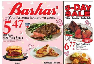 Bashas' Weekly Ad Flyer February 10 to February 16