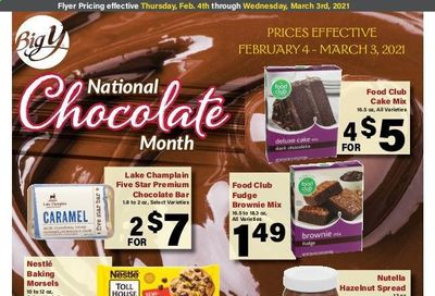 Big Y (CT, MA) Weekly Ad Flyer February 4 to March 3
