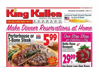 King Kullen Weekly Ad Flyer February 12 to February 18