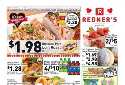 Redner's Markets Weekly Ad Flyer February 11 to February 17