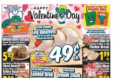 Western Beef Weekly Ad Flyer February 11 to February 17