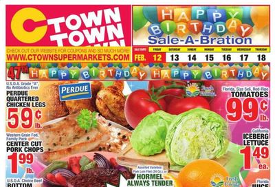 C-Town Weekly Ad Flyer February 12 to February 18