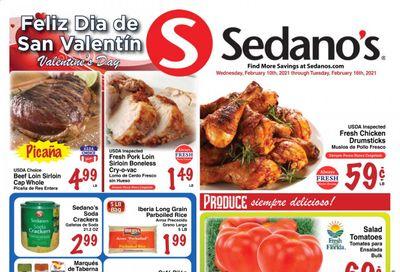 Sedano's (FL) Weekly Ad Flyer February 10 to February 16