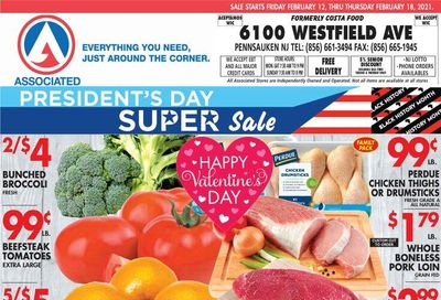 Associated Supermarkets Weekly Ad Flyer February 12 to February 18