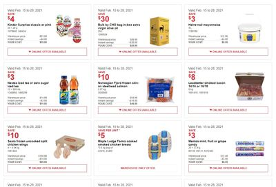 Costco Business Centre Instant Savings Flyer February 15 to 28