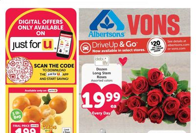 Albertsons Weekly Ad Flyer February 10 to February 16